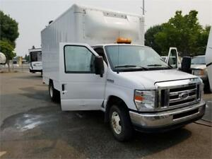 2012 Ford E-450 16 FT CUBE, 55 GALLONS GAS &80 GALLONS PROPANE
