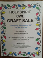 Holy Spirit CWL Craft Sale - Crafters Wanted