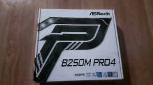 Brand New Asrock B250 Micro PRO4 Motherboard