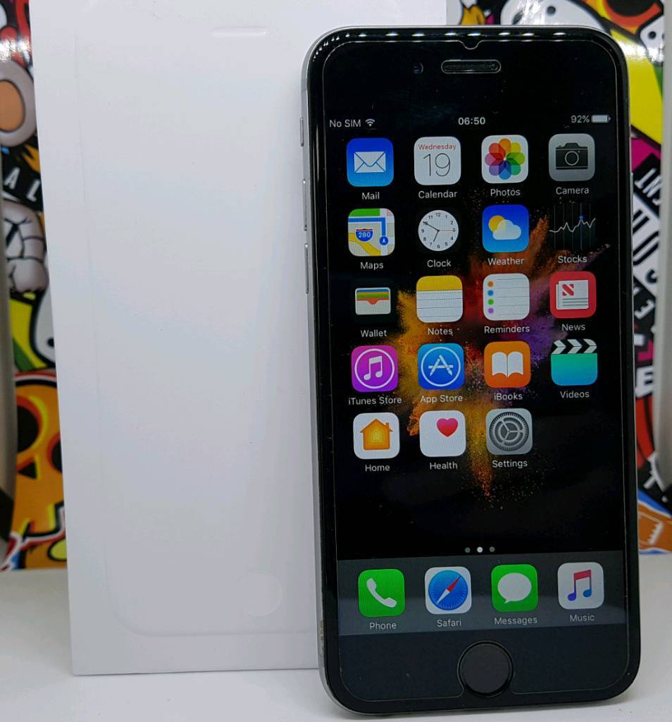 Apple Iphone 64gb Unlocked Space Greyin Bolton, ManchesterGumtree - Iphone 664gb Memory Unlocked To Any NetworkICloud Clear Ready For New OwnerFingerprint Scanner Is Not Working ( Can Use Passcode Instead)Comes With Original Box Only (No Charger)The phone is in excellent condition as you can see in the pics. Both...