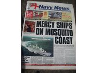 ROYAL NAVY NEWSPAPERS FROM THE 1990s