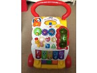 VTech First Steps Musical Baby Walker - play toy