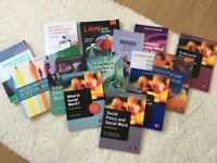 Social work book bundle