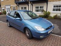 2003 Ford Focus, 1.6, long MOT, 80k.