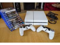 White Playstation 4 Bundle