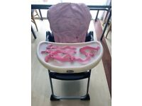 Chicco Highchair High Chair Baby Boy Girl Bundle mothercare mamas and papas