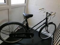 Vintage British ladies bicycle