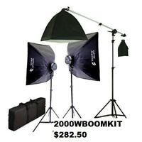 Continuous Lighting & Video light kit, Starting from $110.00