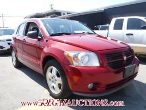 2007 DODGE CALIBER SXT 4D HATCHBACK SXT