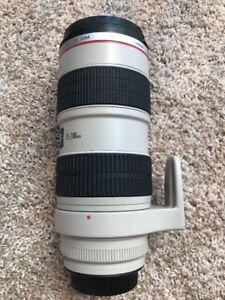 Canon EF 70-200mm 70-200 f/2.8L  IS USM