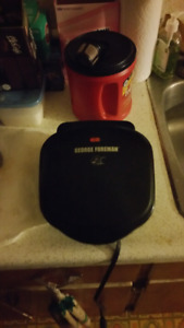 George Foreman Grill trade for something bigger or better.