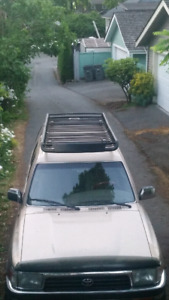 Heavy duty roof rack for sale - with lights