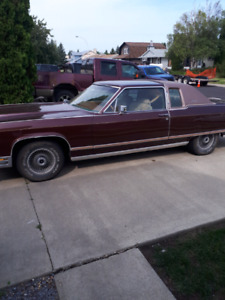 1977 Lincoln town coup