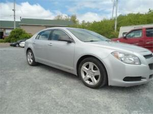 $2200 OFF BLACK BOOK VALUE ! 2011  MALIBU! 2.4 L4- GAS SAVER !