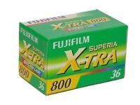 Fujifilm Superia 800 35mm 36 Exposure x-tra discontinued film