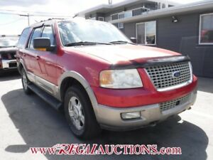 2003 FORD EXPEDITION  4D UTILITY 4WD