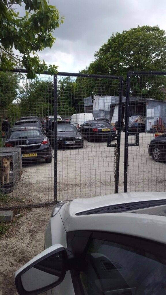 car storage, open yard for rent