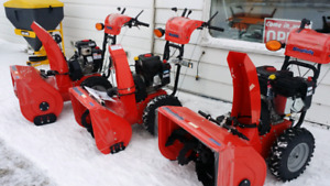 Snow blower and plow maintenance and repairs