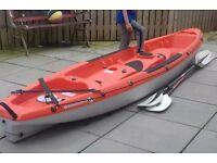 Kayak borneo 3 person