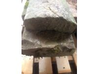 reclaimed stone capping