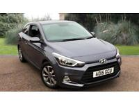 Hyundai i20 1.2 ( 84ps ) 2015MY SE PETROL 2 DOOR COUPE IN GREY
