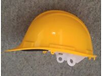New hard hat site hi viz yellow site hat one size fits all