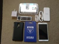 Samsung note 4 unlocked with extras