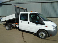 Ford Transit 350 TDCi Crew Cab One Stop Tipper 2011 11 reg
