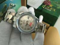 New Swiss Men's Rolex Datejust 2 Perpetual Automatic Watch, Silver Roman Numerals dial
