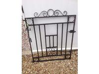 Strong single Garden gate
