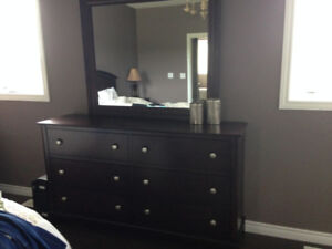 Gorgeous dresser with large mirror