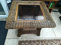 2 conservatory tables,very good quality