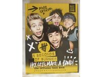 "5 Seconds of Summer Hardback Book - ""Hey Let's Make A Band"""