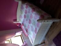 Double Bed (White)