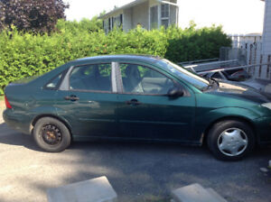 2001 Ford Focus Berline
