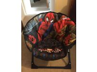 Folding Spider-Man moon chair 6 months+