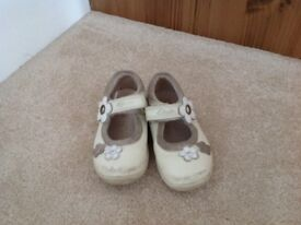 Girls Clarks size 6 shoes