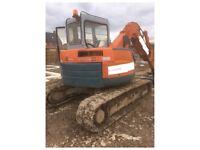Hitachi 75ur excavator
