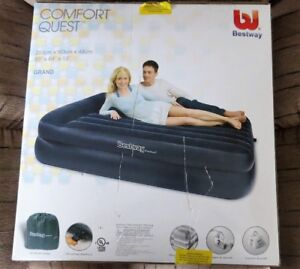 SOLD ......   INFLATABLE AIR BED -NEVER USED.