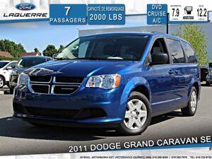 2011 Dodge Grand Caravan SE**STOW N'GO*DVD* CRUISE*A/C**