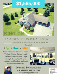 Gorgeous home for sale in King on 1.3 acres ! Rural living