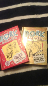Hard Cover Dork Diaries Books #6 And #7 Great Condition