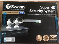 NVR4-7400 4 Channel 4MP Network Video Recorder & 2 x NHD-818 4MP Cameras