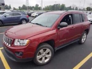 2012 Jeep Compass $59/WK, 4.74% ZERO DOWN! SPORT! REAR CAMERA! H