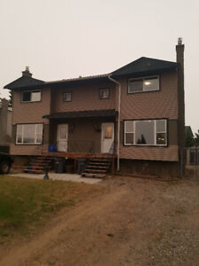 3 bedroom 1/2 duplex available for rent immediately or Sept.1