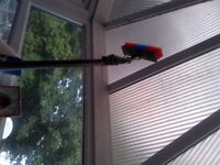 Pole fed window cleaning equipment / osmosis