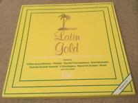 LATIN GOLD - FOUR VINYL ALBUM BOXED SET