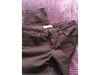 Ladies Baxter Topshop skinny leg jeans waist 32 leg 32