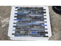 20 sheets Dappled Sky glass Random brick mosaic sheets 35x35cm