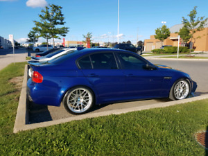 2008 BMW M3 6SPD 4DR Rare interlagos blue